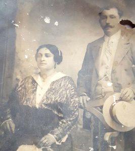 I coniugi Elena ed Eugenio Dacomo