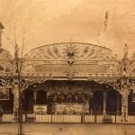 Il Cinema Mobile agli Inizi del XIX secolo situato nel Cortile della Maddalena