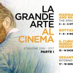 LA GRANDE ARTE AL CINEMA: Calendario Eventi